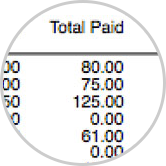 Print finance charge report.